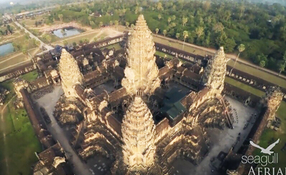 Angkor Wat with Phantom 2