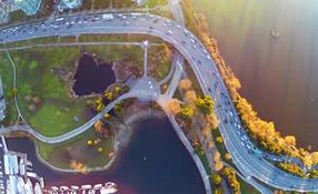Stanley Park Aerial Footage