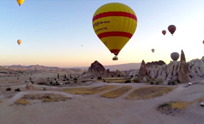 Hot air balloons of Cappadocia, Turkey