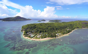 Seychelles 2014 filmed from above with a DJI Phantom 2